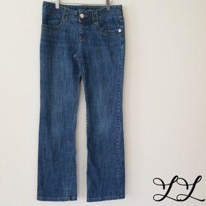 Michael Kors Jeans Straight Med Wash Flap Pockets